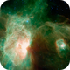 Horsehead and Flame Nebula Animation - Infrared vs Optical - Spitzer Space Telescope Tribute,                                Orestis Pavlou