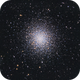 M13 - Hercules Globular Cluster,                                Job Bacon