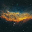 California Nebula in SHO,                                Tommy Lease