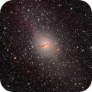 Centaurus A from NSW, Australia - HaLRGB - Thanks to RemoteSkies.net !!! - Please See in Full Res :-),                                Daniel Nobre