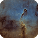 IC1396 The Elephant trunk nebula in SHO,                                Vincent F