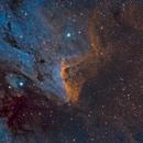 Pelican Nebula - IC 5070,                                Samara