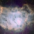 Lagoon Nebula in SHO,                                AstroJoeHSV