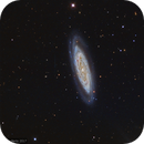 NGC 4100 - 11th magnitude galaxy in Ursa Major,                                wimvb