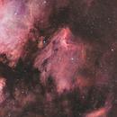 IC 5067 • Pelican Nebula HOO,                                Mikael De Ketelaere
