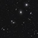 Virgo Galaxies , Part of Markarian Chain,                                AstroMarcin