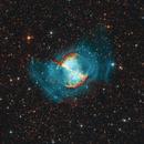 M27 - Dumbbell Nebula HOO+RGB,                                FedericoDS