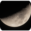 my first dslr moon photo,                                Hassan Sarosh