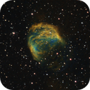 Sh2-274, Medusa Nebula, SHO & HSO + LRGB stars, Feb 2020,                                David Dearden
