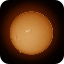 Sunspot and large fila-prom, 11/20/2017,                                Patrick Hsieh