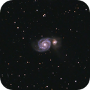 Whirlpool Galaxy,                                darkandblurry