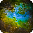 M16 The Eagle Nebula,                                Dale A Chamberlain