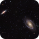 M81 and M82 (Bode's and Cigar Galaxy),                                Rob Boyer
