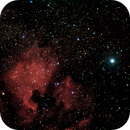 NGC 7000 out the city,                                astroclausi