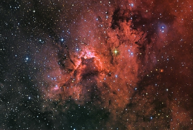 Cave Nebula,                                sydney