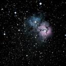 M20 the Trifid Nebula in Sagittarius,                                RonAdams