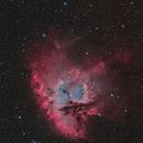 NGC281 Pacman Nebula HOO+SHO(20%)+RGB(StarColor),                                Masahiro Takahashi