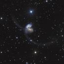 NGC 4038 / 4039 interacting galaxies 'Antennae',                                Giovanni Benintende