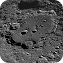 Clavius  from the early summer,                                Guillermo Gonzalez