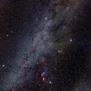 Milky Way Over Orion,                                astrobrad