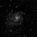 M101 - 20210612 - Celestron C6 at F4.6,                                altazastro