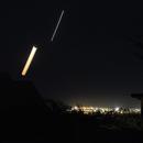 Coucher Lune & Vénus en conjonction [5°] : 4°, 28/12/2019,                                Ariel