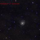 M101 Pinwheel and satelite galaxies,                                Francisco