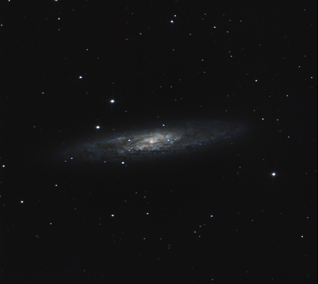 NGC 253 - Sculptor Galaxy,                                Ahmed