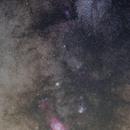 Saturnus bij Lagune en Trifid,                                petelaa