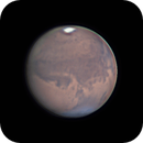 Annimation of approx 1 hour of Mars rotation - 22 Sept 2020,                                Geof Lewis