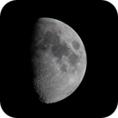67.5 % Moon with the Canon T3i and Sigma 600 mm lens.,                                  Van H. McComas