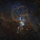 NGC 3576: The Statue of Liberty Nebula,                                Rogerio Alonso