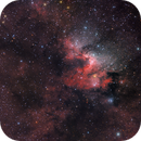 Spelunking - Sh2-155 (Cave Nebula) in HAOIIILRGB,                                  Nico Carver