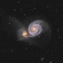 M51  Whirlpool Galaxy,                                David Newbury
