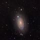 The Sunflower Galaxy (M63) V.2,                                Josh Woodward