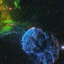 Jellyfish Nebula in OHS Narrowband,                                Alex Gorbachev