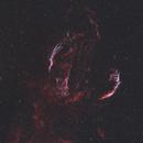 Cygnus Loop in HaOIIIRGB with Neighboring Gas Clouds,                                Christopher Scott