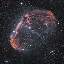 NGC 6888 Crescent nebula HaO3,                                  John