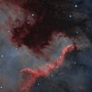 NGC 7000 - North America Nebula - The Cygnus Wall - Bicolor,                                Andrea Alessandrelli