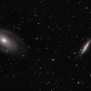 M81 and M82,                                Thomas