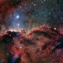 NGC6188 HaRGB,                                Leandro Fornaziero
