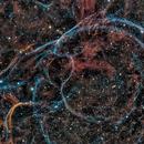 Vela Molecular Cloud - one small area,                                Alex Woronow