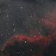 Cygnus Wall - My First Monochrome Image,                                Bob Stevenson