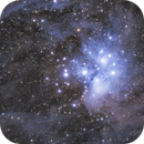 The Pleiades - Messier 45,                                  Rafael Schmall