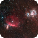 Orion's Belt with Canon Ra (First Light Please see comments),                                Jeff Ball