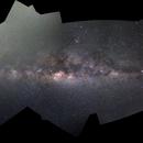 Panoramic Mosaic of the Milky Way,                                Jairo Amaral