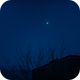 Der Morgenstern, Venus und Jupiter,                                Silkanni Forrer