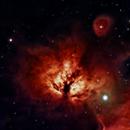 Flame Nebula NB,                                Peter