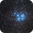 Pleiades M45,                                  CGPhotography