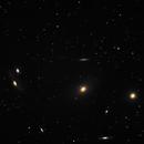 Markarian Chain of Galaxies,                                Coenie